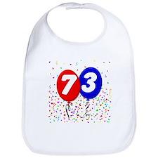 73rd Birthday Bib