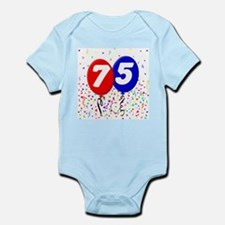 75th Birthday Infant Bodysuit