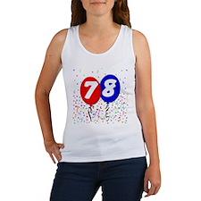 78th Birthday Women's Tank Top