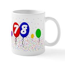 78th Birthday Mug