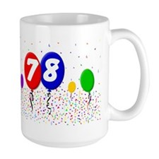 78th Birthday Mug