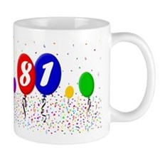 81st Birthday Mug