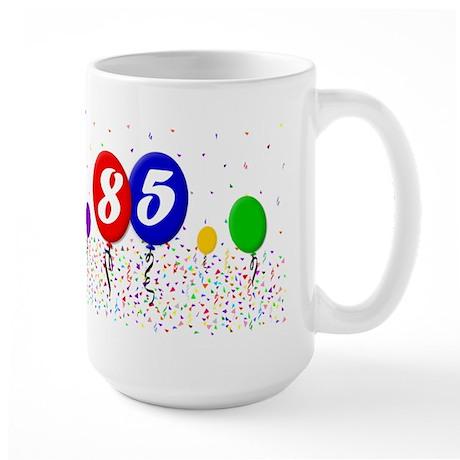 85th Birthday Large Mug