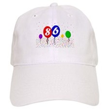 86th Birthday Baseball Cap