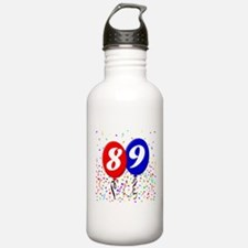 89th Birthday Water Bottle