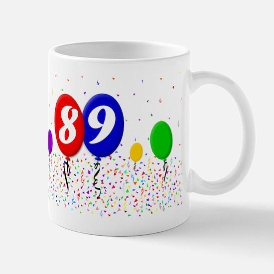 89th Birthday Mug