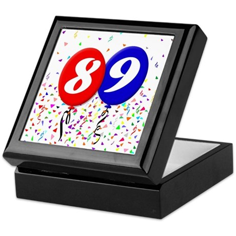 89th Birthday Keepsake Box
