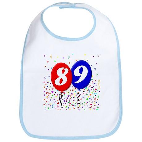 89th Birthday Bib
