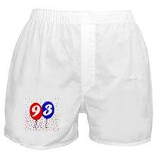 93rd Birthday Boxer Shorts