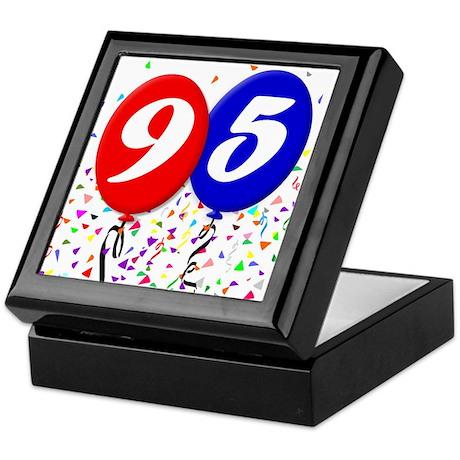 95th Birthday Keepsake Box