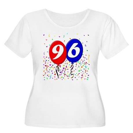 96th Birthday Women's Plus Size Scoop Neck T-Shirt
