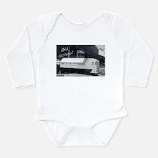 The Old Days Long Sleeve Infant Bodysuit