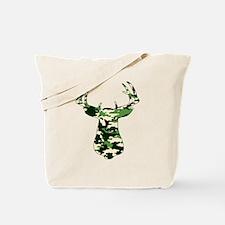 BUCK IN CAMO Tote Bag