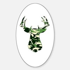 BUCK IN CAMO Decal