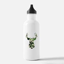 BUCK IN CAMO Water Bottle