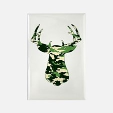 BUCK IN CAMO Rectangle Magnet