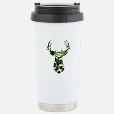 BUCK IN CAMO Stainless Steel Travel Mug