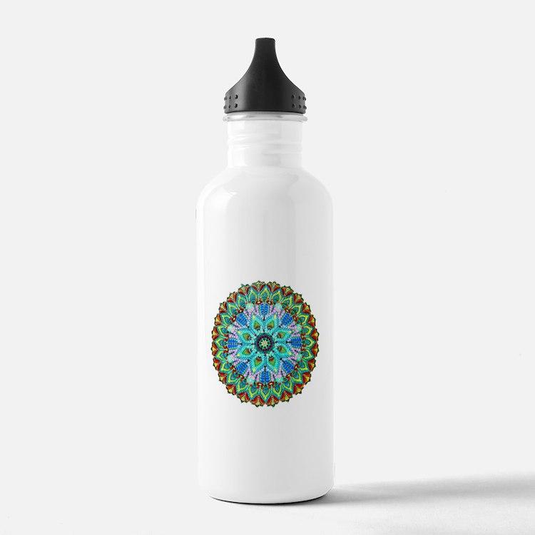 Mandala-Color Water Bottle