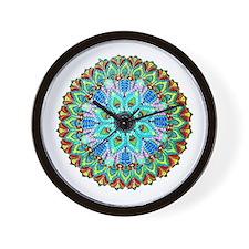 Mandala-Color Wall Clock