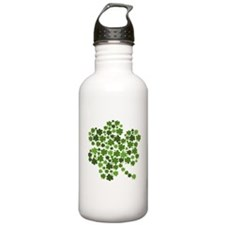 Shamrocks in a Shamrock Water Bottle