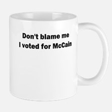 I Voted for McCain Mug