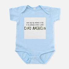 Camo American Infant Bodysuit