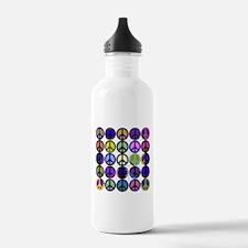 Mod Vintage Peace Water Bottle