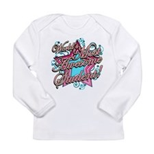 Worlds Most Awesome Student Long Sleeve Infant T-S
