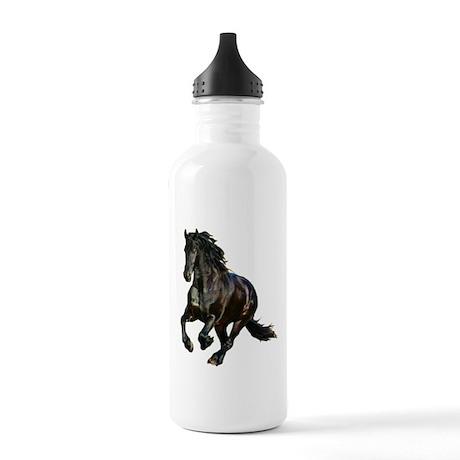 Black Stallion Horse Stainless Water Bottle 1.0L