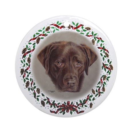 Dudley Ornament (Round)
