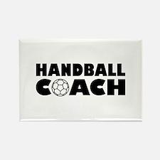 Handball coach Rectangle Magnet