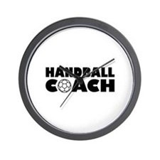 Handball coach Wall Clock