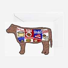 Beef Guide Greeting Card