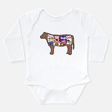 Beef Guide Long Sleeve Infant Bodysuit