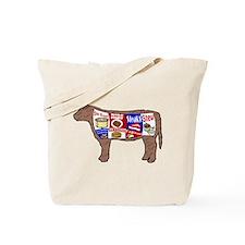 Beef Guide Tote Bag