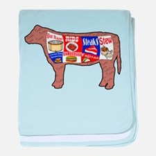 Beef Guide baby blanket