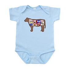 Beef Guide Infant Bodysuit