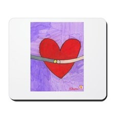 Hikaru's Purple Heart Mousepad