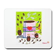 Hikaru's 'Coffee Samba' Mousepad