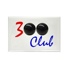 Exclusive: 300 Bowler Club! Rectangle Magnet
