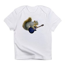Squirrel with Blue Guitar Infant T-Shirt