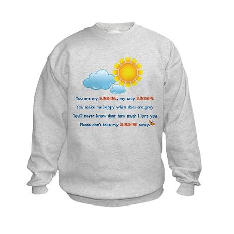 You are My Sunshine Kids Sweatshirt