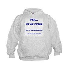 We're twins - fraternal Hoody