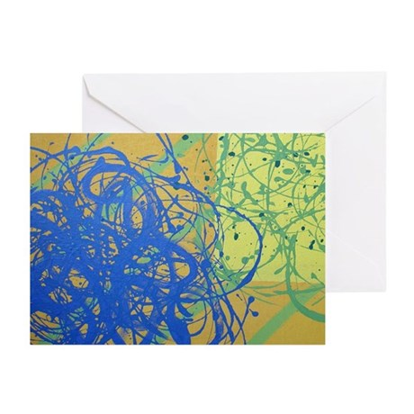 Tumble Attack (2) Greeting Cards (Pk of 10)