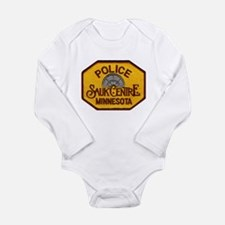 Sauk Centre Police Long Sleeve Infant Bodysuit
