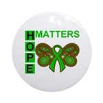 Hope Matters Organ Transplant Ornament (Round)