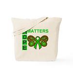 Hope Matters Organ Transplant Tote Bag