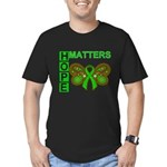 Hope Matters Organ Transplant Men's Fitted T-Shirt