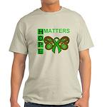 Hope Matters Organ Transplant Light T-Shirt