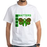 Hope Matters Organ Transplant White T-Shirt